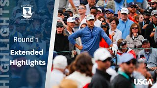 2019 U.S. Open: Round 1 Extended Highlights