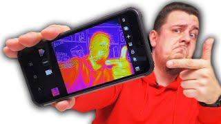 Смартфон с Тепловизором, NFC, 6/128 и 6580 mAh.