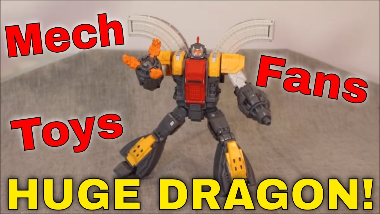 Not too Big, Not too Small, Just Right? - MFT Huge Dragon by GotBot