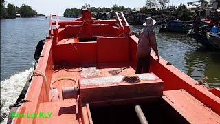 Chạy tàu cá 400tr ra biển bao trì/Fishing vessel.