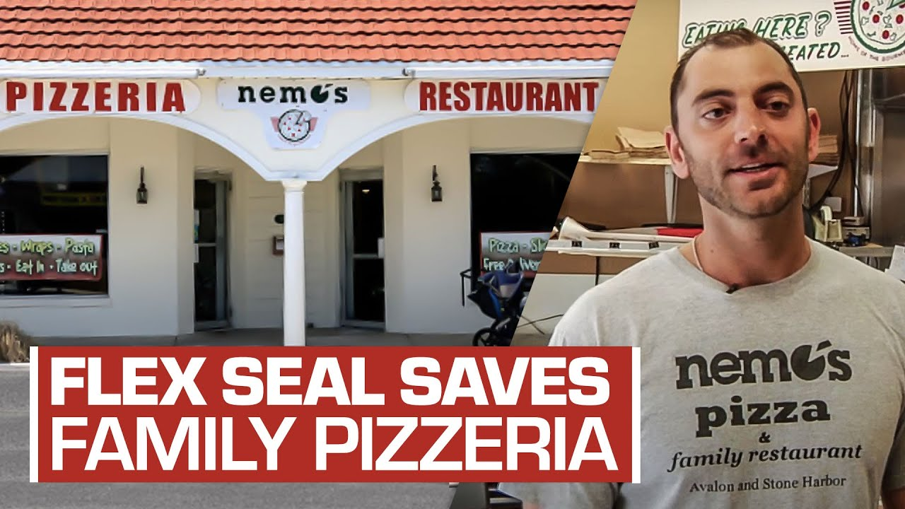 Flex Seal® Helps Save Local Pizza Business