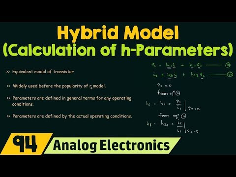 Analysis of Transistor Amplifier Using h-Parameters (Part 1
