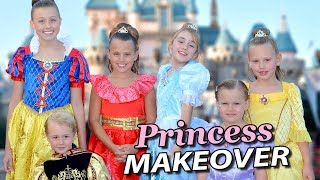 baileys princess makeover at disneylands bibbidi bobbidi boutique
