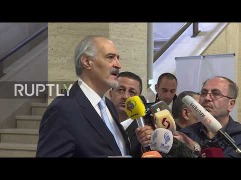 Switzerland: Syria's Jaafari calls US-led strike in Al Tanf an act of 'state terrorism'