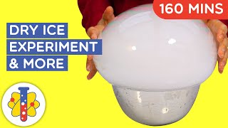 2 HOURS of AMAZING SCIENCE EXPERIMENTS YOU CAN DO AT HOME | Dry Ice Experiments Part 1 | Lab 360