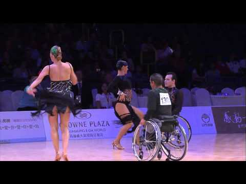 WDSG 2013 Kaohsiung I R1 Slow & Fast Boogie-Woogie & Wheelchair Latin