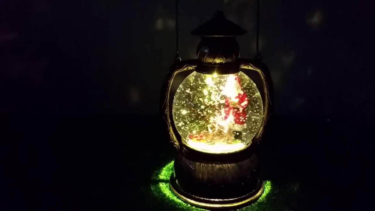Universal Needs Weihnachtsbeleuchtung.Konstsmide Led Schnee Kugellaterne Weihnachtsmann 1 Warmweiße Led