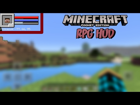 RPG HUD Addon для Minecraft PE 1.0.2