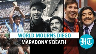 Diego Maradona dies at 60; Lionel Messi, Cristiano Ronaldo pay tribute