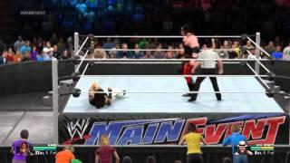 WWE  2K15 GAMEPLAY[PC] KANE VS BRAY WYATT || WWE #MAINEVENT