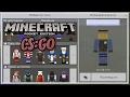 Скины Counter Strike:GO для Minecraft PE 1.0.2