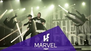 MARVEL | Showcase All-Stars | Hit The Floor Gatineau #HTF2015