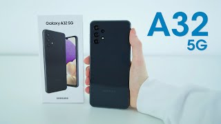 Samsung Galaxy A32 5G Hands On and Impressions!