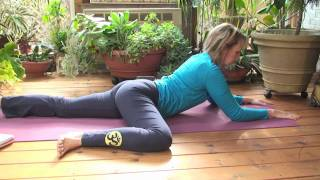 Repeat youtube video Yoga for Beginners Two with Dr. Melissa West - Namaste Yoga Episode 107