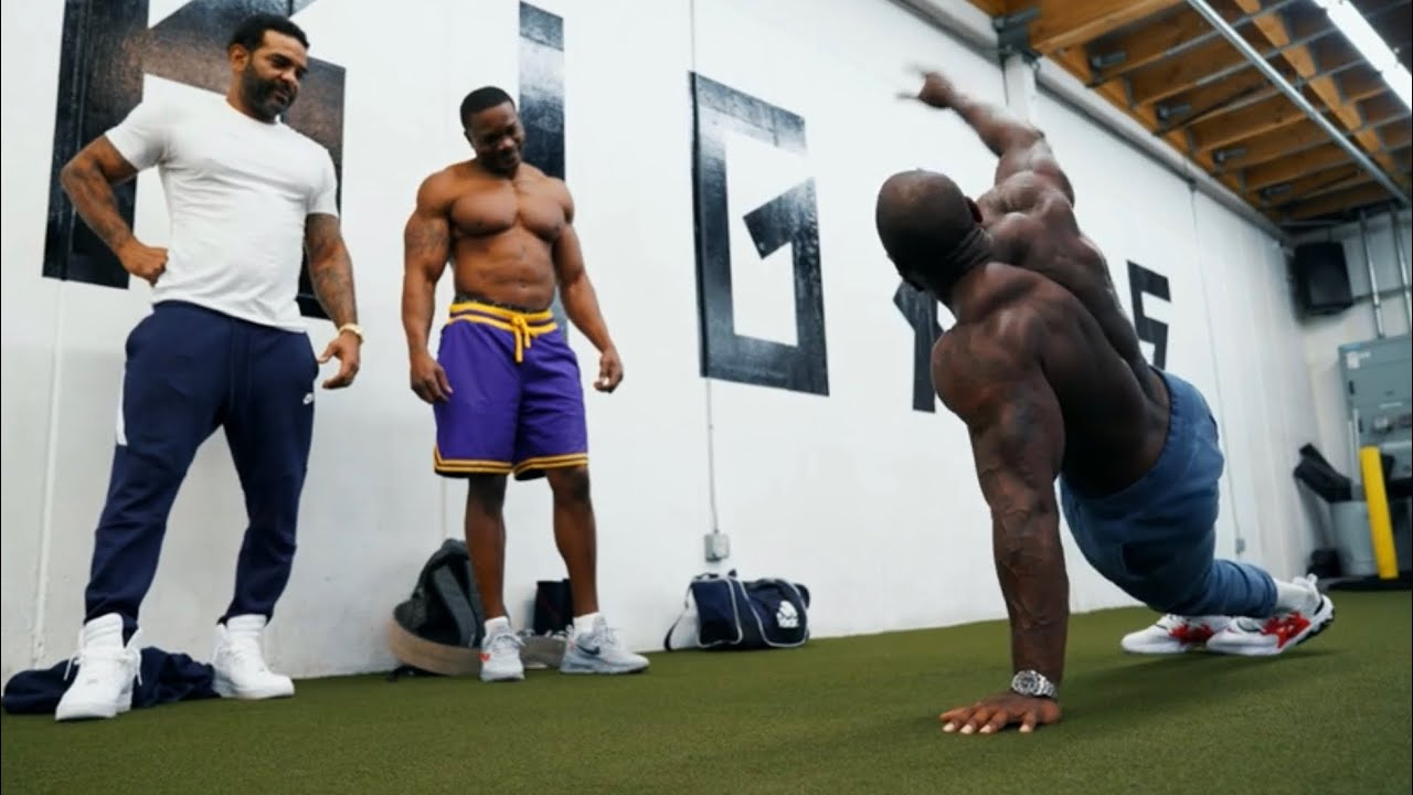Jim Jones & Mike Rashid | Heavy Bench Press & Warrior Push Ups
