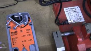 Testing a Damper Motor Belimo MO# NFBUP S