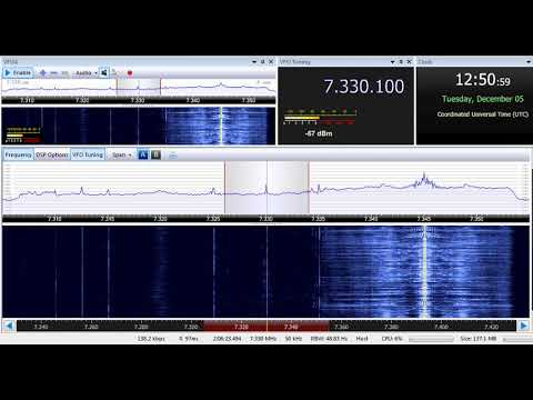 05 12 2017 Vatican Radio in Russian to FERussia 1250 on 7330, 9695 Tinang