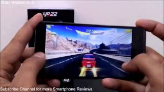 Yezz Andy 5T Gaming Test with Asphalt 8 : Airborne