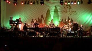 Ansamblul de percutie Prezent la Garana Jazz Festival 2013