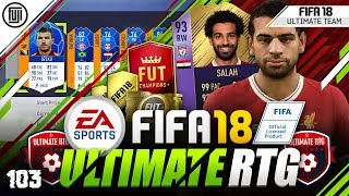 93 POTM SALAH!!! FIFA 18 ULTIMATE ROAD TO GLORY! #103 - #FIFA18 Ultimate Team