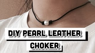 Baixar How to Double knot for pearl leather choker!