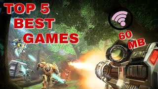 Top 5 best game with graphics under 60 mb |2018|#PART2