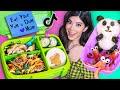 I tried Satisfying Food Art Bento Lunches on Tik Tok
