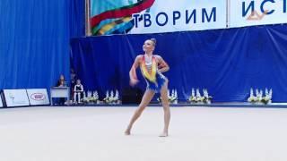 Полина Шматко - скакалка // Надежды России Пенза 2015
