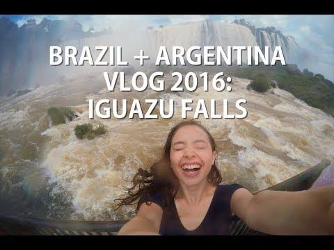 BRAZIL + ARGENTINA VLOG 2016: Iguazu Falls