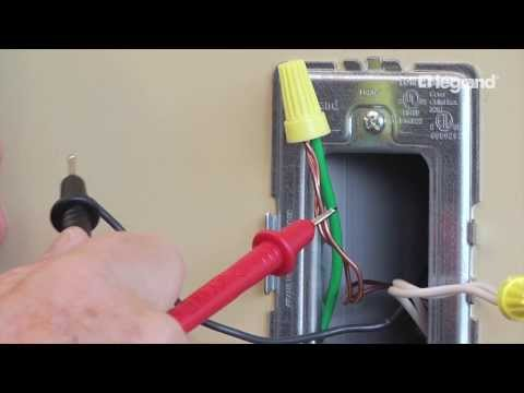 P & Seymour: Basic Home Wiring How-To - YouTube Le Grand Vacancy Sensor Switch Wiring Diagram Rrw V on