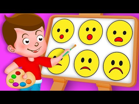 Drawing Emoji Emotions Paint And Colouring For Kids Kids Drawing TV