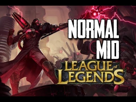 League of Legends - Creator Viktor(12/1/9) vs Katarina w/ Fr