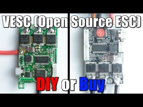 VESC (Best Open Source ESC) || DIY or Buy