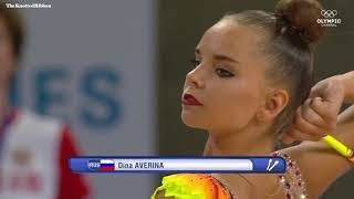 Dina Averina clubs 2017 Wroclaw World Games
