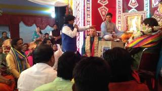 Awesome bhajan by Bhaiya Sheetal Pandey at Shyam Darbar Jharsuguda.