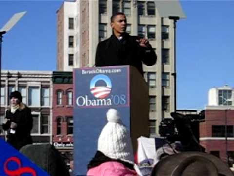 Barack Obama Announces His Candidacy for President - YouTube