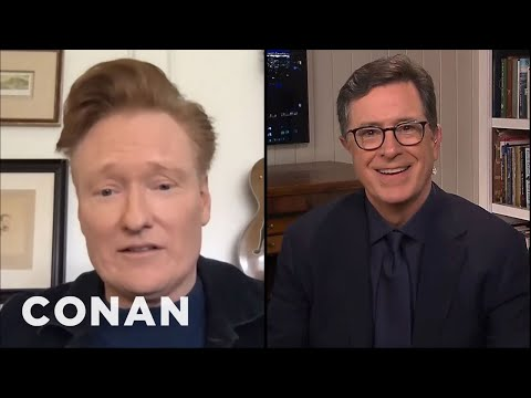 Stephen Colbert Wants To Send Conan A Birthday Present - CONAN on TBS