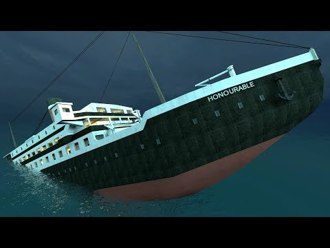 Garry's Mod SINKABLE RMS Honorable Ship | Mod Showcase REDUX