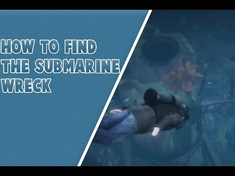 How to Find the Submarine Underwater Wreck in GTA V