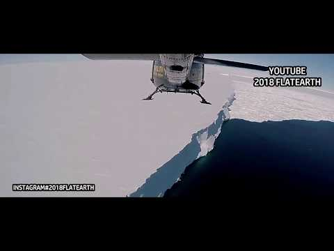 ANTARCTICA  ICE WALL / FLAT EARTH / END OF THE EARTH /  Never Before Seen Footage thumbnail