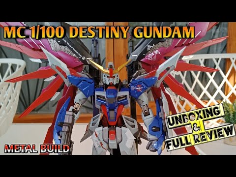 Unboxing + Build and Full Review Metal Build Destiny Gundam by MC Model