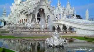 White Temple, Wat Rong Khun, Travel in Thailand