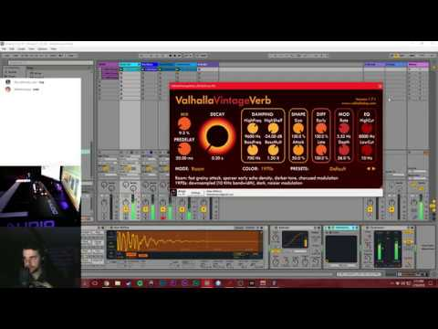 Music Production Livestream - 1/16/18 - Pop Music Production in Ableton Live
