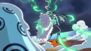 One Piece - Law Uses Gamma Knife On Doflamingo!!