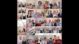 Мобильная фотобудка на свадьбе Елизаветы и Вячеслава 15 июня 2018