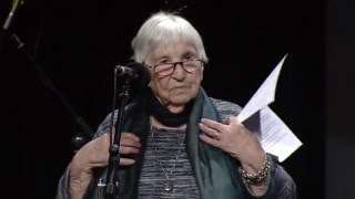 Esther Bejarano bei der Rosa-Luxemburg-Konferenz 2016