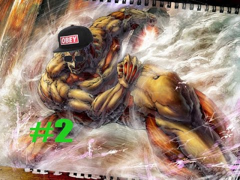 Attack on Titan Abridged shorts #2 Eren is a Man - YouTube