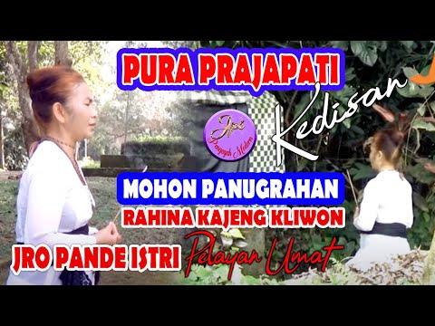 Jro Pande Istri ( JPI ) Pura Prajapati Rahinan Kajeng Kliwon
