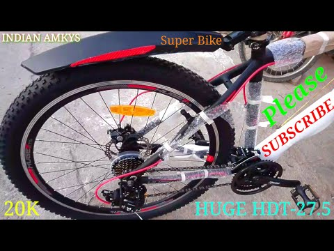 My New Cycle HUGE HDT-27.5 Super Bike Price Unboxing And Assembling in [ Hindi ] INDIAN AMKYS