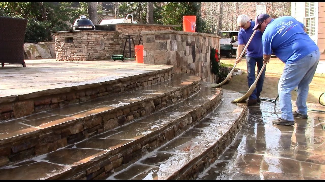 Delicieux Muriatic Acid Patio Cleaning